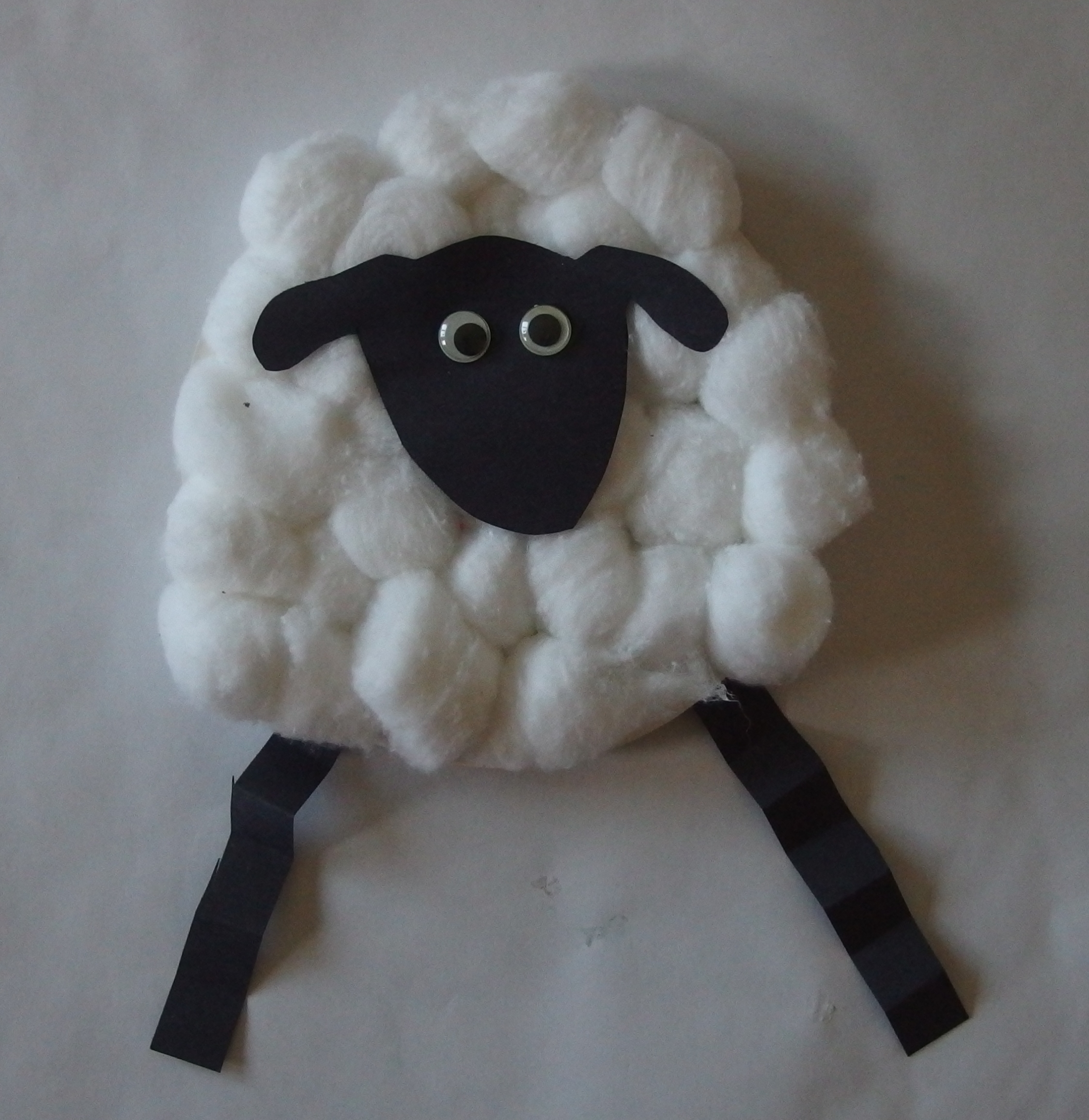 Paper Plate Sheep Pictures to Pin on Pinterest