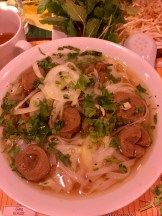 Pho with meatballs from Pho Hanoi - first visit
