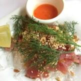 Tuna tartare from Bonjour Vietnam