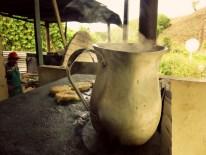 Making arepas