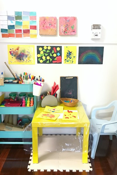 A Dedicated Art Space in the Home (Part 1) – Making Space for Creativity in Our Household