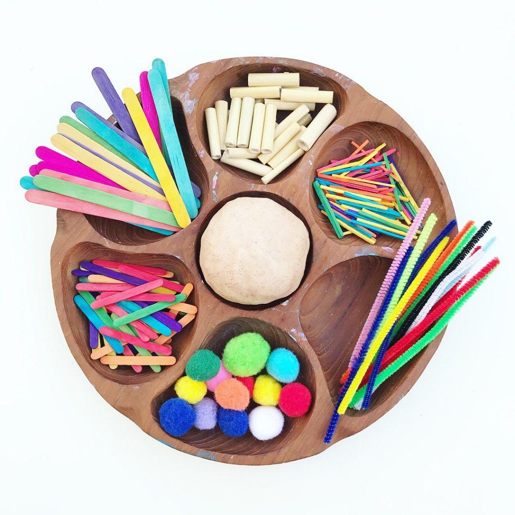 art material - playdough