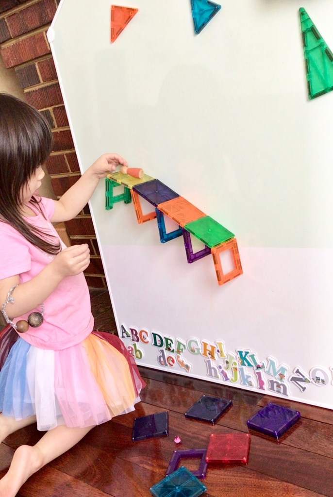 Working on a Vertical Surface