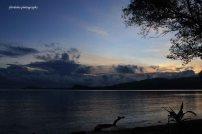 Gapang beach in the morning
