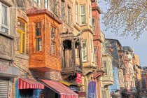 Old traditional houses in Balat