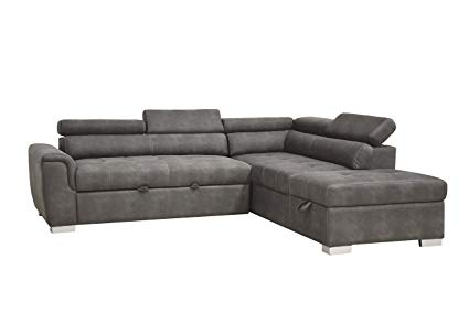 microfiber sectional sleeper sofa
