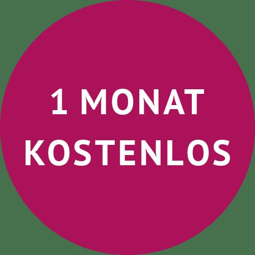 Ein Monat kostenlos testen