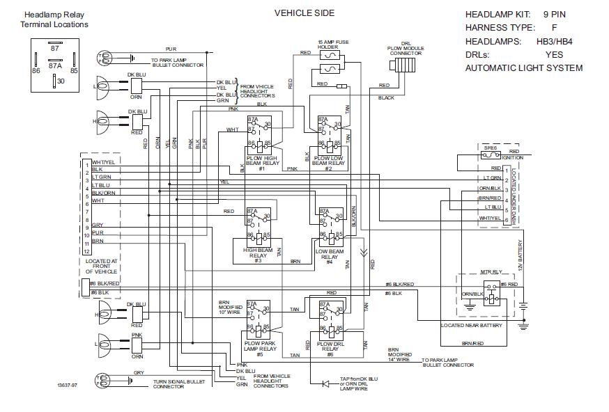 Western Wiring Unimount Chevy 61716