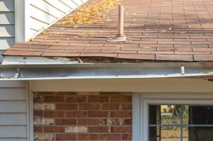 Allen Gutter Damage