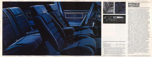 1985 Buick Skyhawk Brochure