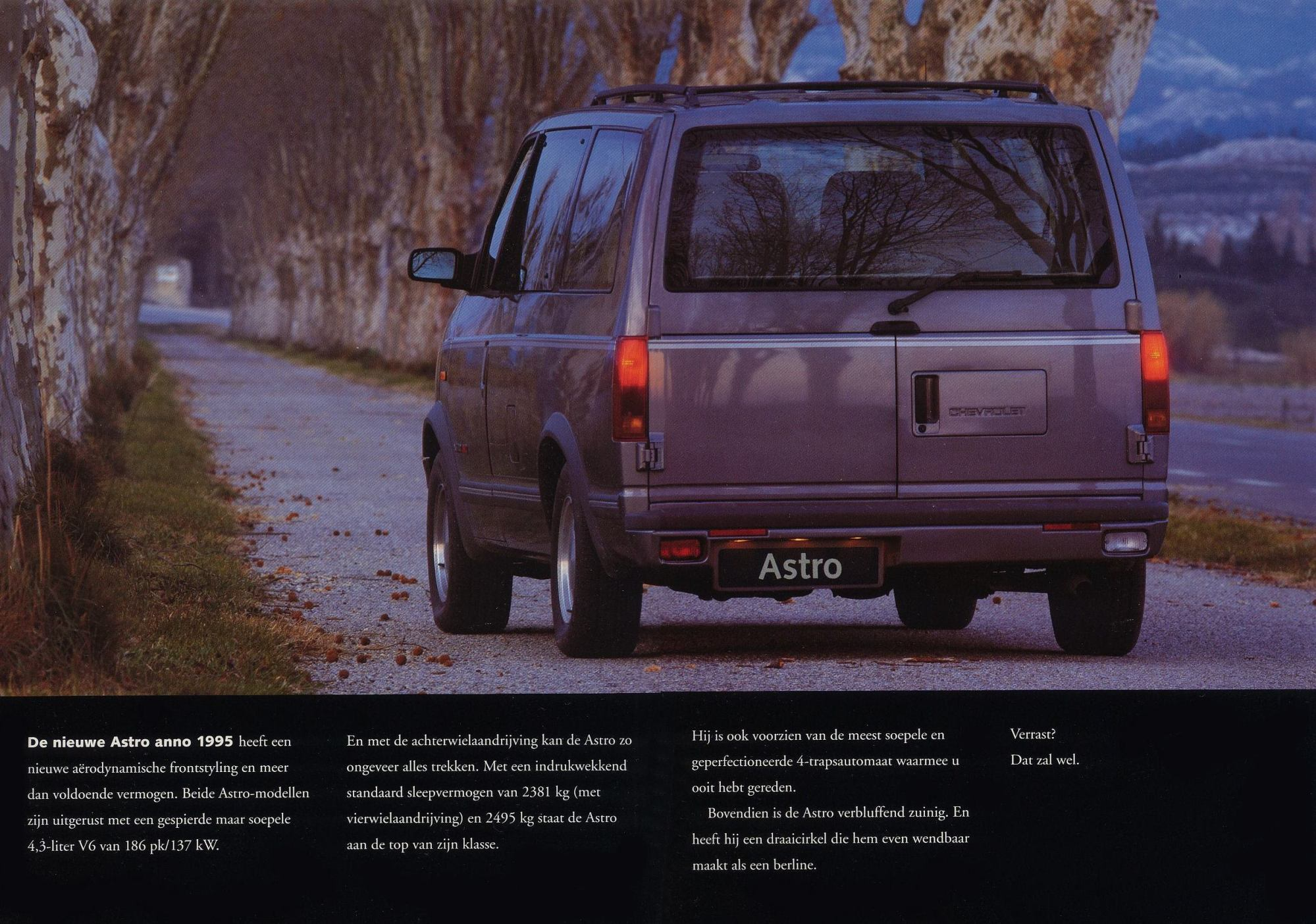 hight resolution of cropped by me german spec 1995 chevy astro brochure pic