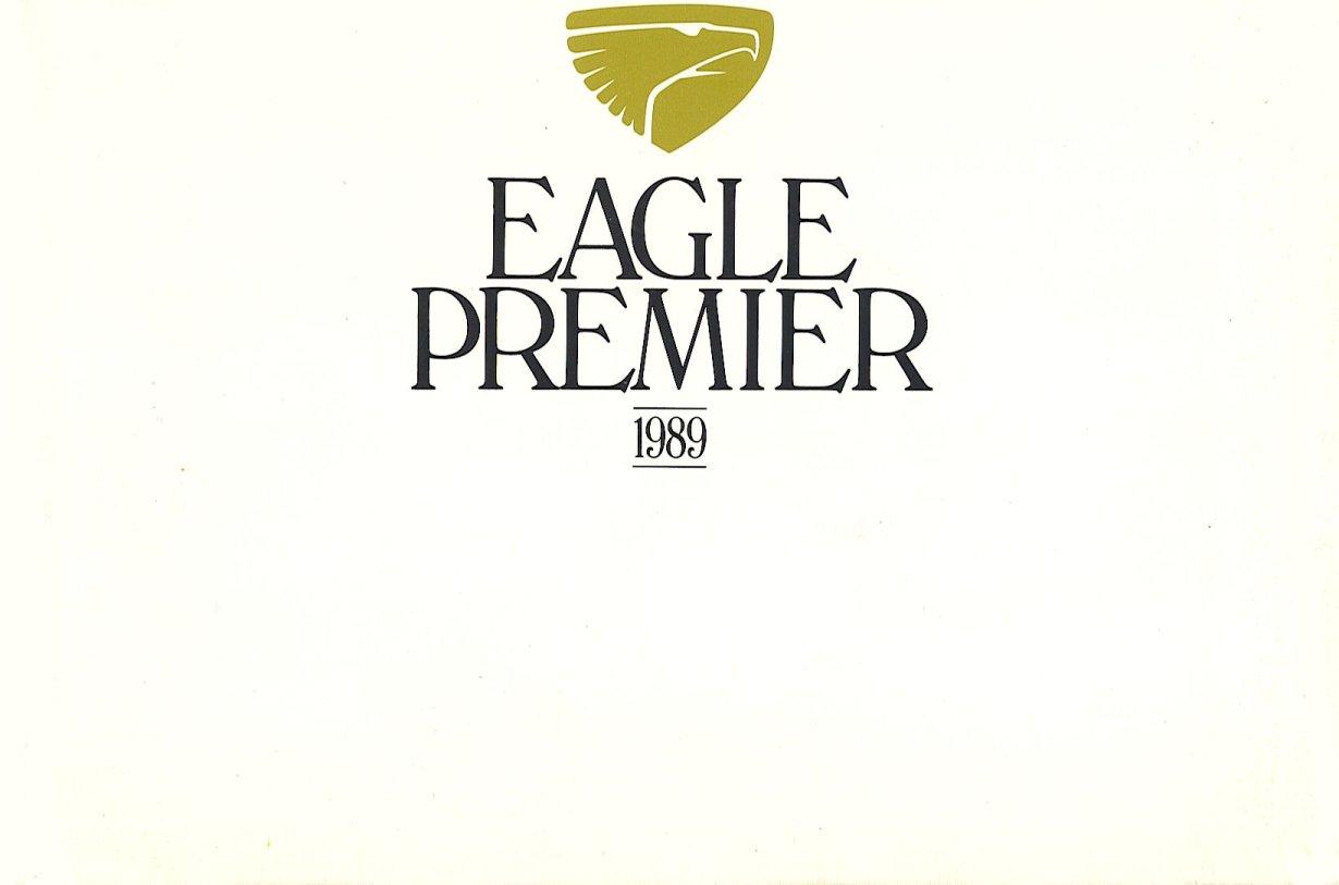 1989 Eagle Premier brochure