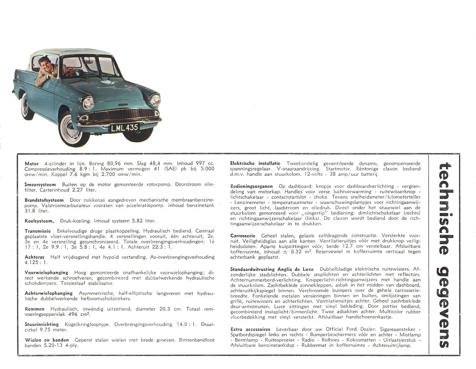 1964 Ford Anglia Brochure