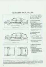 Ford Scorpio brochure