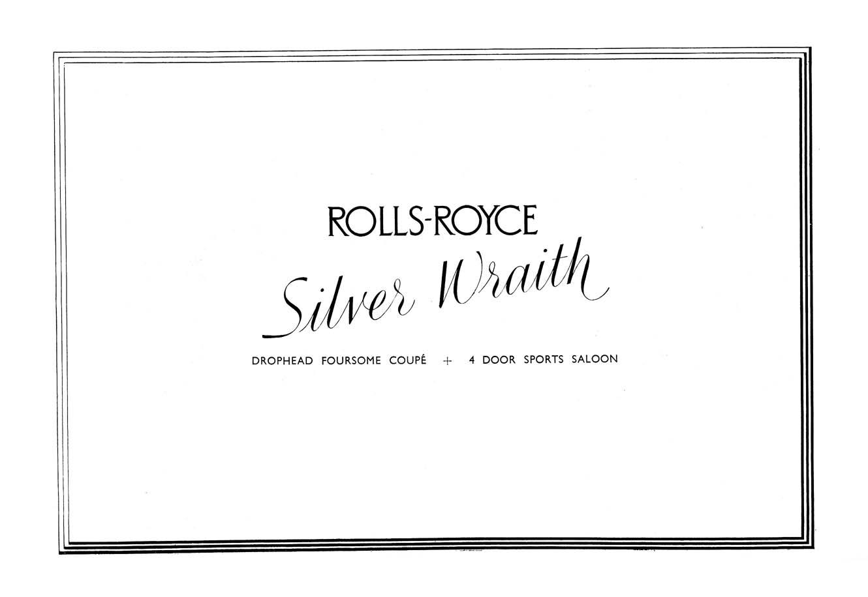 1949 Rolls Royce Brochure