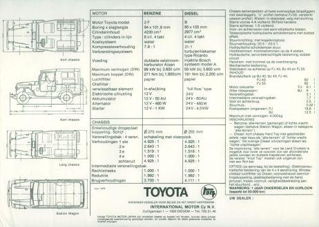 Toyota Landcruiser brochure