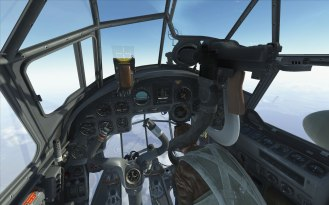 The gorgeous cockpit of the Ju88... It's a little busy though.