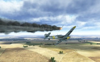 A Bf109G-4 scores another victory