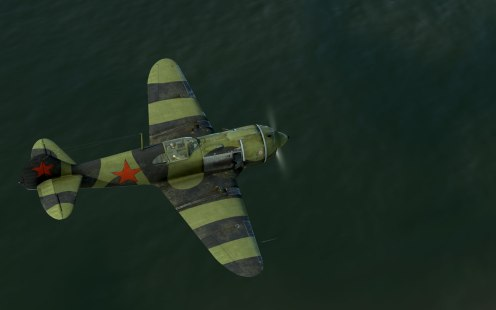 The La-5 with a M-82F engine