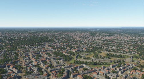 The latest WIP screen shot of Normandy