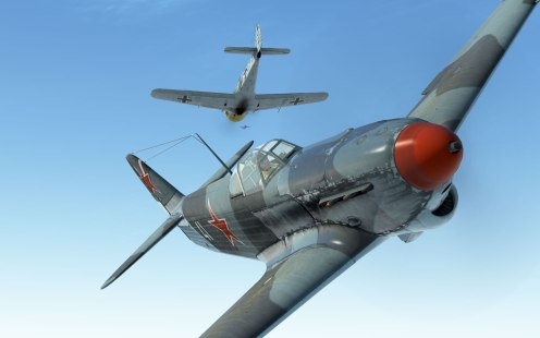 The Yak-1B is one of the best fighters available for the Allied side right now.