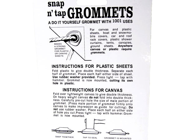 Coghlan's/Coghlans 8 Snap n' Tap Grommets for Camping