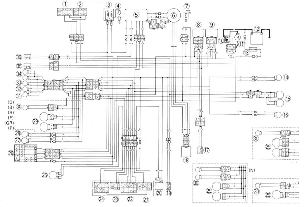 Yamaha Xt 350 Wire Diagram