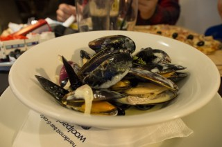 Mussels at The Woolpack Inn
