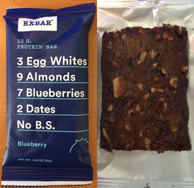 rxbar blueberry