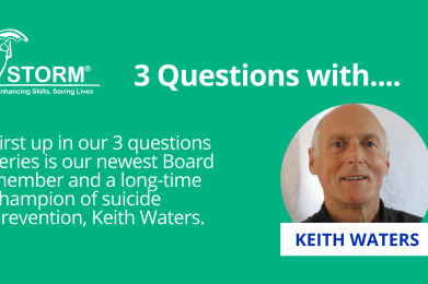 3 Questions with Keith Waters