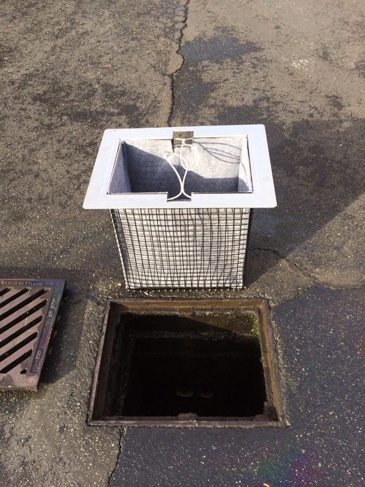 Catch Basin Inserts Stormwater Biochar