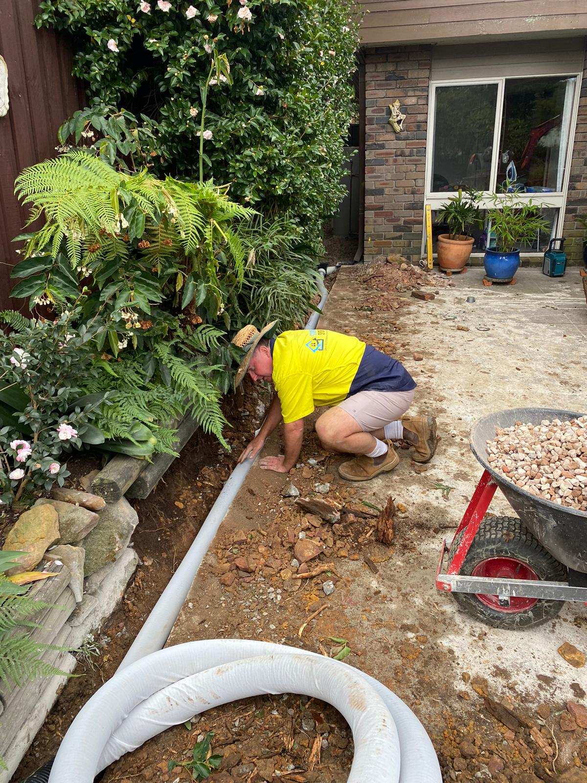 picture gallery stormwater subsoil installation