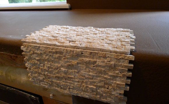replace tile around fireplace with stone stone installers