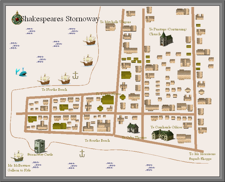 Stornoway in Shakespeares Time