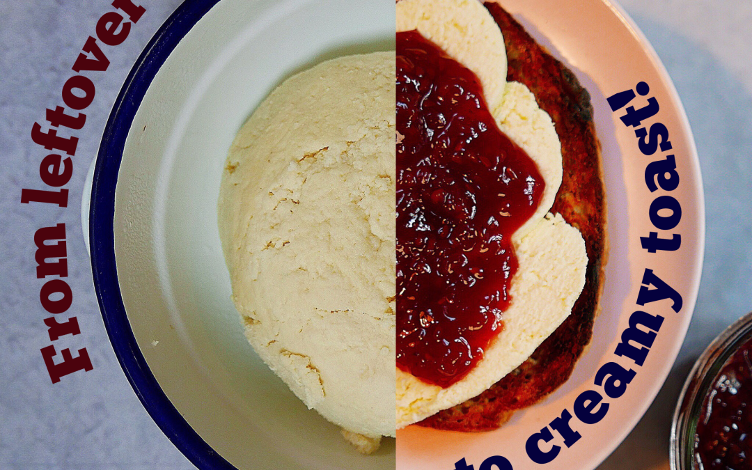 (Learning to love) not keen on ricotta