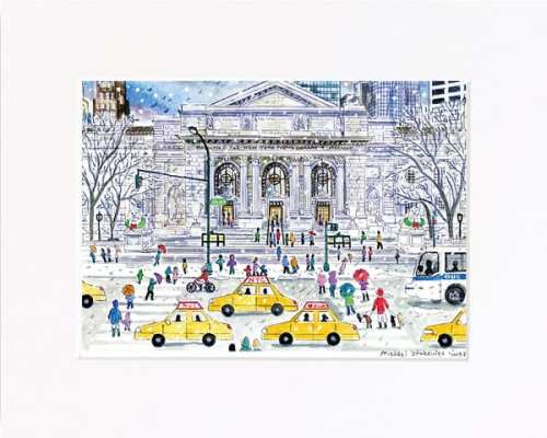 New York Public Library Print