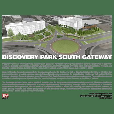 Discovery Park South Gateway, Purdue University