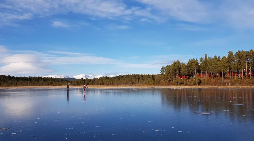 Vid Storsjö fiskecamp