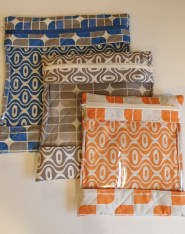 3 bags with Riley Blake Fabric