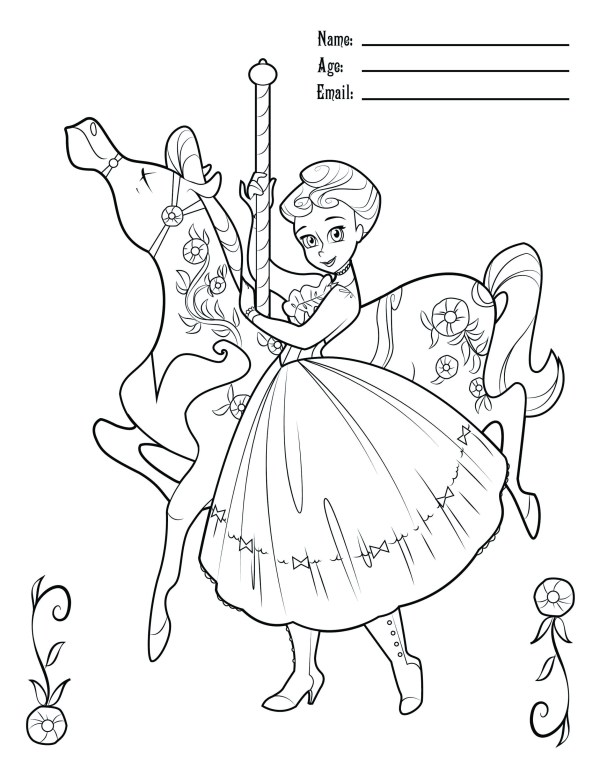 mary poppins coloring pages # 15