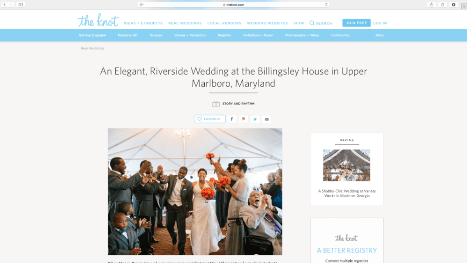Featured wedding DJ and photographer at the Billingsley House Museum