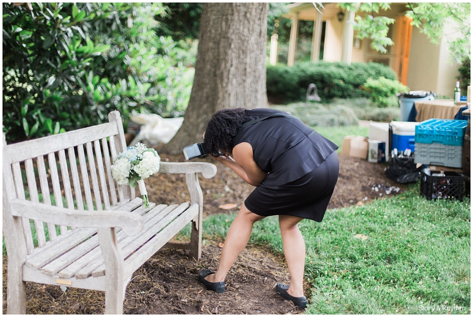 Behind the scenes with Story and Rhythm wedding photographer and DJ_0335