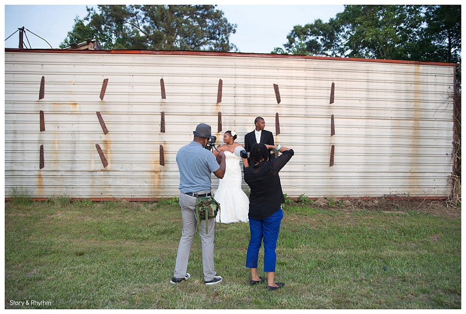 Behind the scenes with Story and Rhythm wedding photographer and DJ_0339