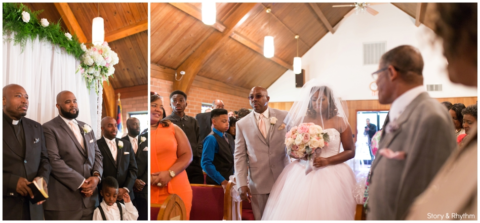 Village Inn Event Center Wedding in Winston Salem, NC_0885