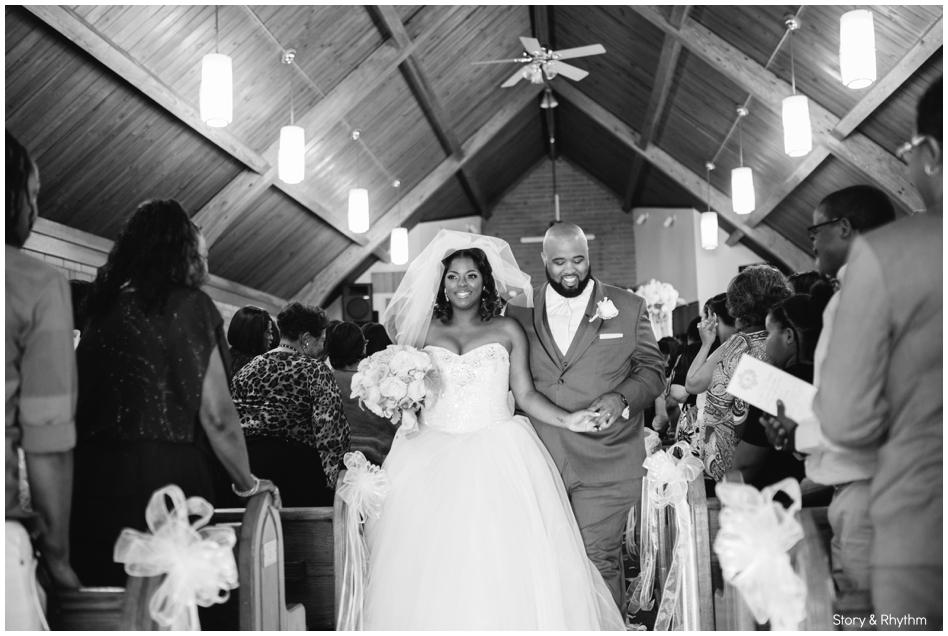 Village Inn Event Center Wedding in Winston Salem, NC_0887