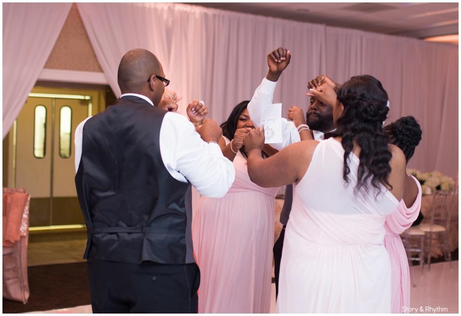 Village Inn Event Center Wedding in Winston Salem, NC_0905