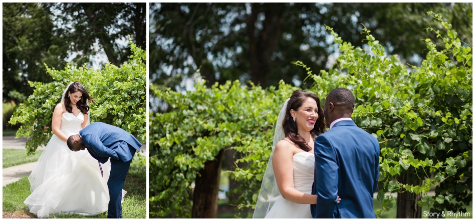 Interracial wedding DJ and photographer in Raleigh NC