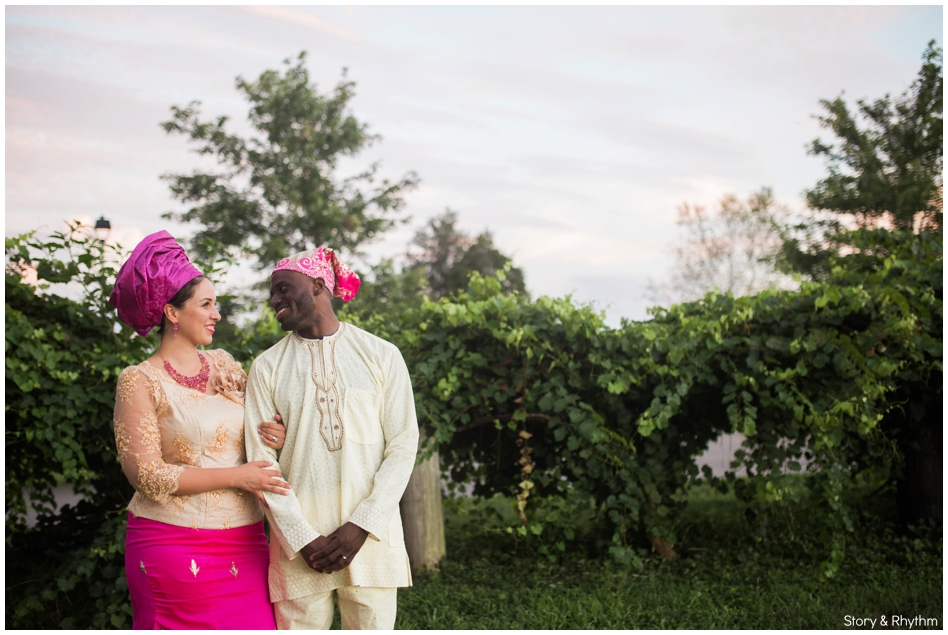 Interracial wedding photography in Raleigh, NC