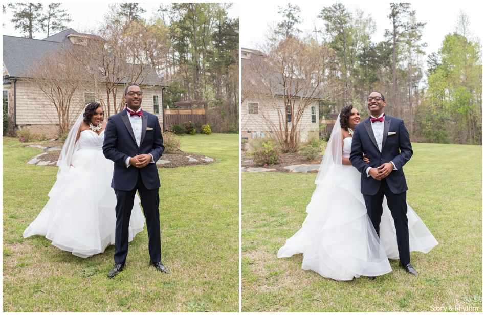 Black wedding photographers Raleigh NC