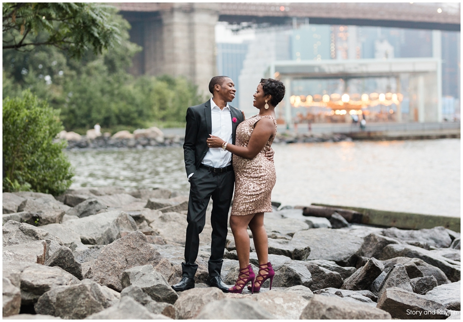 Engagement photos in Brooklyn NY